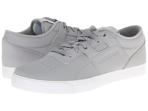 Reebok Lifestyle - Workout Low Clean FVS (Tin Grey/White) Men's Classic Shoes