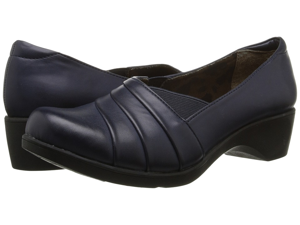 Soft Style - Kambra (Navy Burnished) Women's Shoes