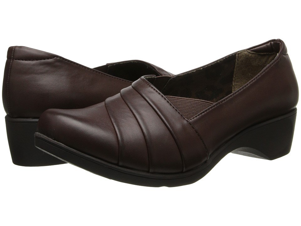 Soft Style - Kambra (Dark Brown Burnished) Women's Shoes