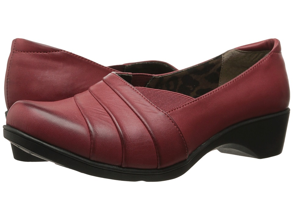 Soft Style - Kambra (Dark Red Burnished) Women's Shoes