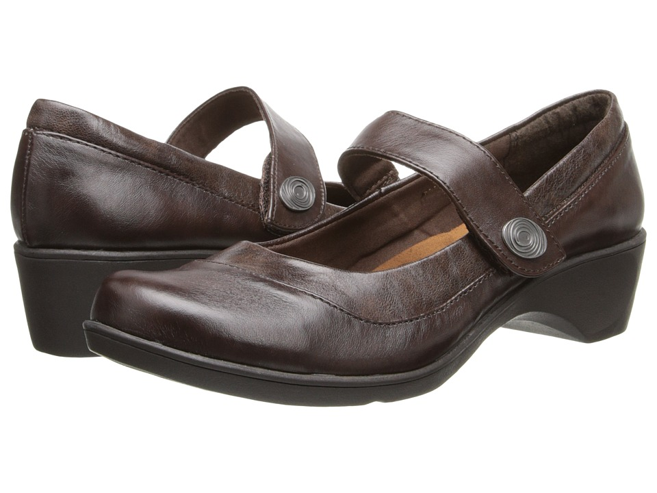 Soft Style - Kaloni (Dark Brown Vitello) Women's Shoes