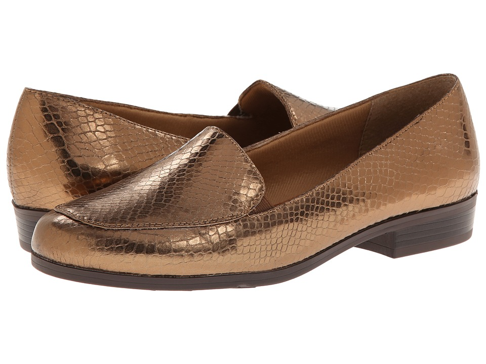 Soft Style - Rexana (Bronze Shiny Snake) Women's Shoes