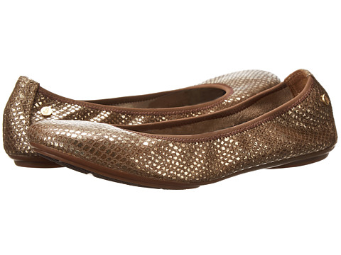 Hush Puppies - Chaste Ballet (Gold Cracked Snake Leather) Women