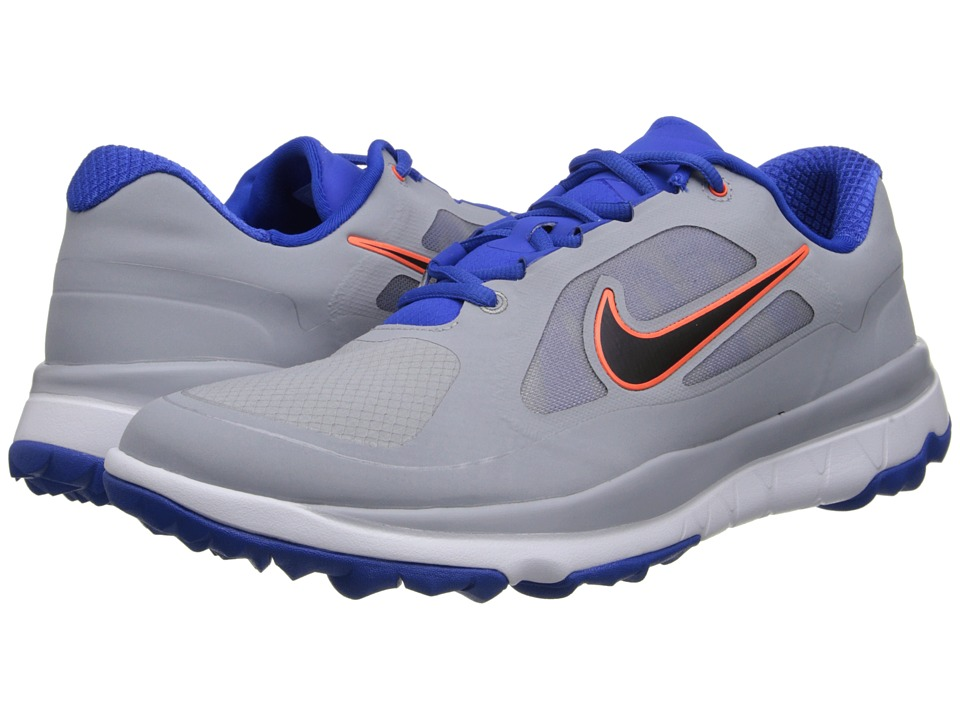 Nike Golf - FI Impact (Wolf Grey/Black/Hyper Cobalt/Hyper Crimson) Men's Golf Shoes