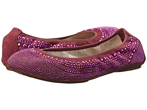 Hush Puppies - Chaste Ballet (Fig Purple Stud) Women's Flat Shoes