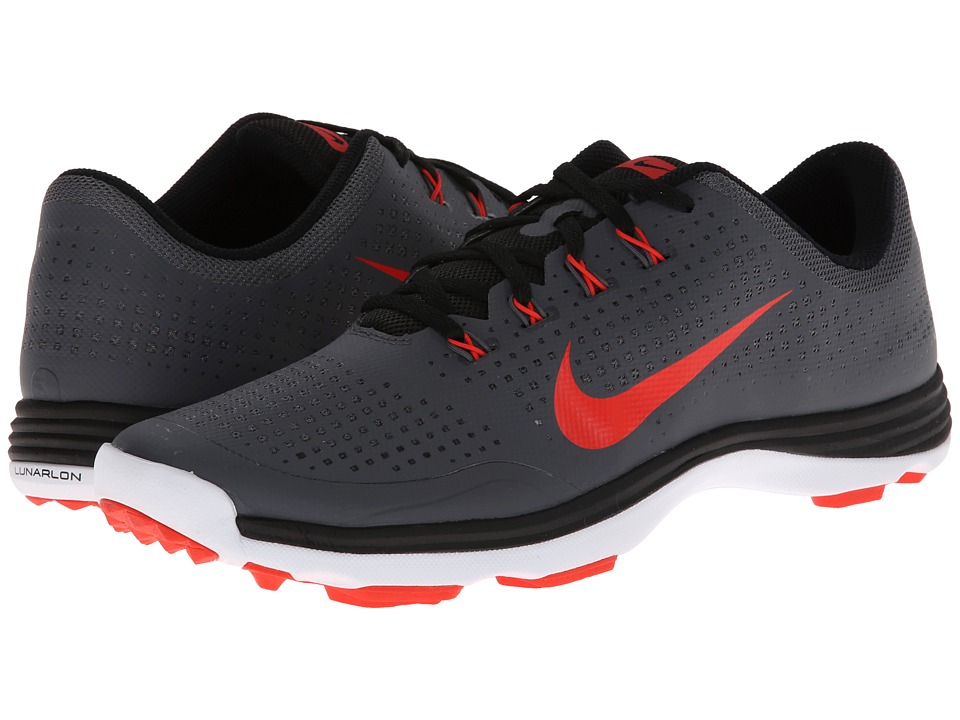 Nike Golf - Nike Lunar Cypress (Dark Grey/Light Crimson/Black/White) Men