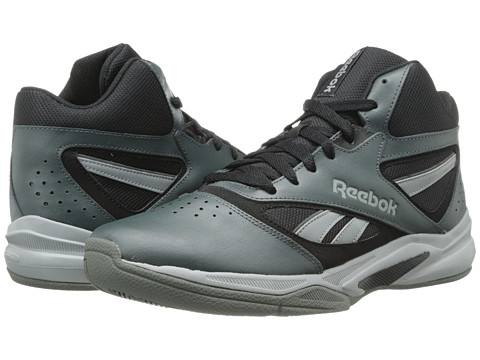 Reebok - Baseline 1.0 (Gravel/Black/Shark/Carbon) Men's Basketball Shoes