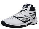 Reebok Baseline 1.0 (White/Reebok Navy/Team Dark Royal/Silver) Men's Basketball Shoes