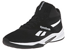 Reebok Baseline 1.0 (Black/White) Men's Basketball Shoes