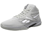 Reebok Baseline 1.0 (Flat Grey/White/Gravel) Men's Basketball Shoes
