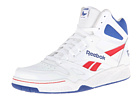 Reebok Royal BB4500 Hi (White/Steel/Team Dark Royal/Excellent Red) Men's Basketball Shoes