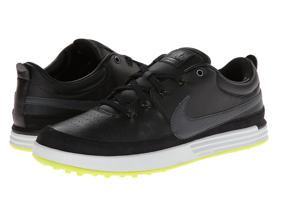 Nike Golf Nike Lunarwaverly (Black/Pure Platinum/Volt/Dark Grey) Men