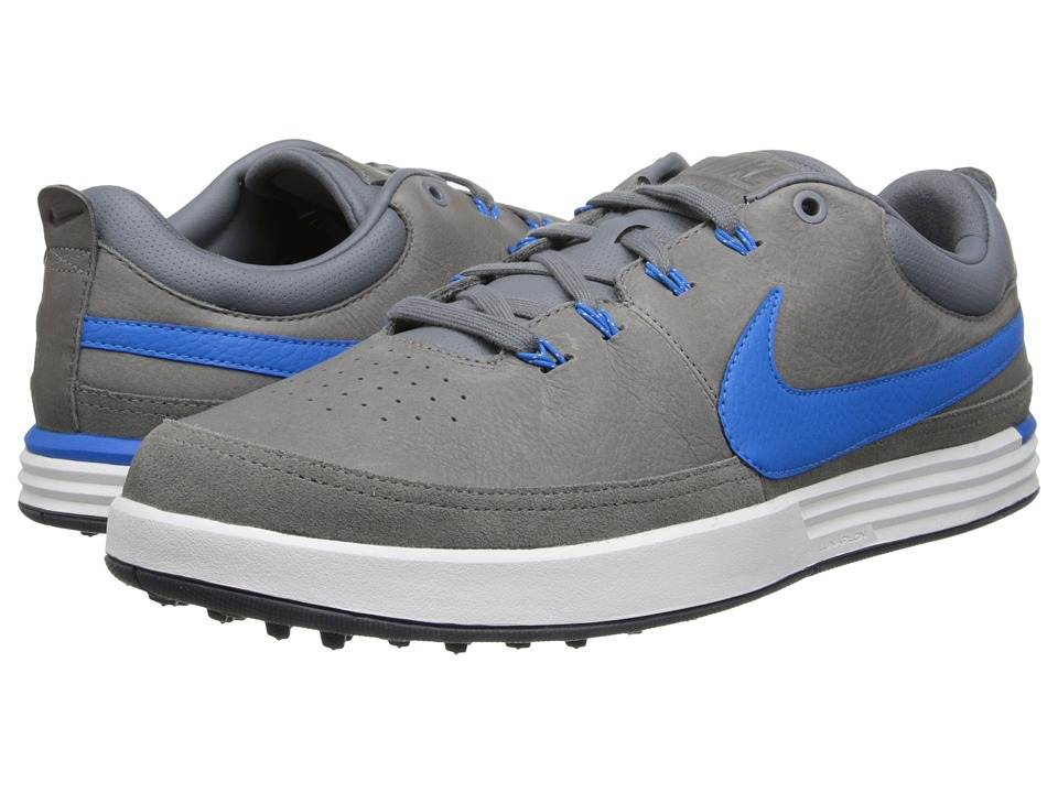 Nike Golf - Nike Lunarwaverly (Cool Grey/Photo Blue/Summit White/Dark Grey) Men's Golf Shoes