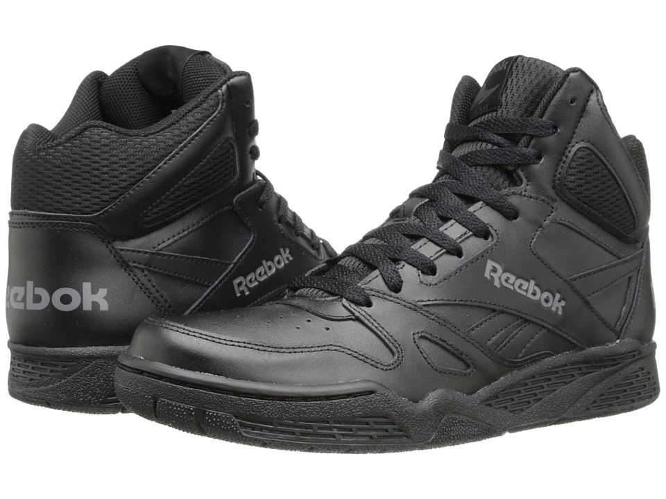 Reebok - Royal BB4500 Hi (Black/Shark) Men's Basketball Shoes
