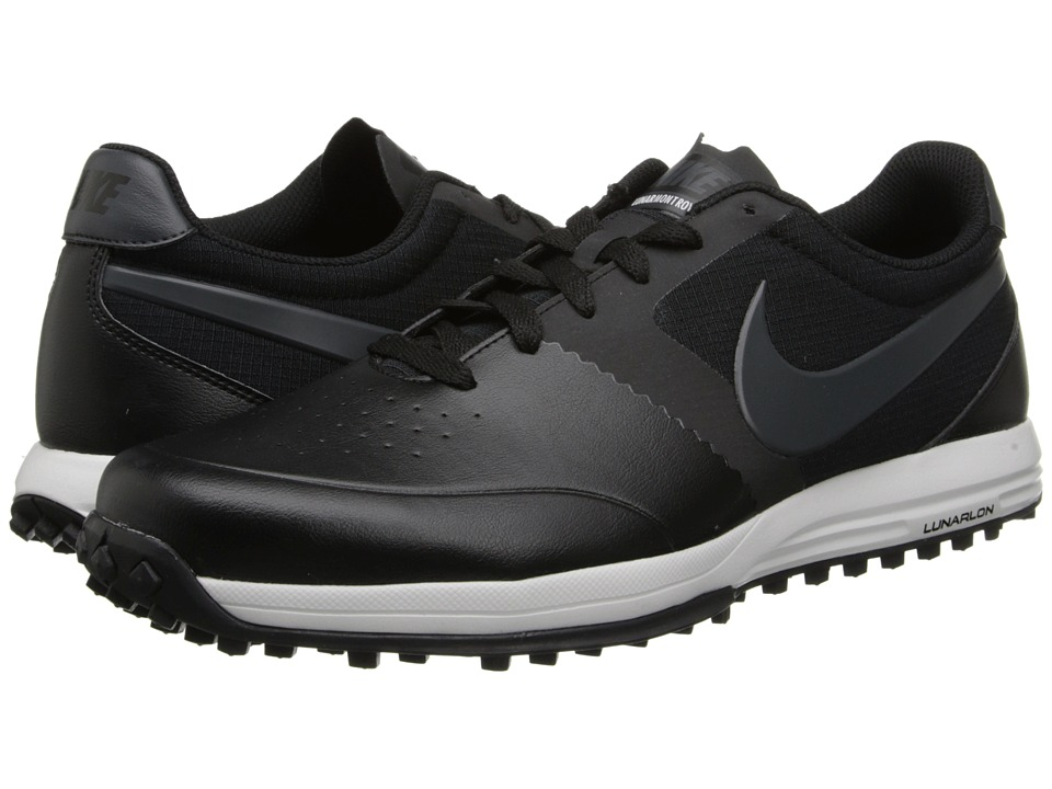 Nike Golf - Nike Lunar Mont Royal (Black/Anthracite/Summit White) Men's Golf Shoes