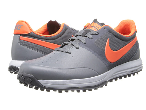 Nike Golf - Nike Lunar Mont Royal (Cool Grey/Hyper Crimson/Dark Grey) Men's Golf Shoes