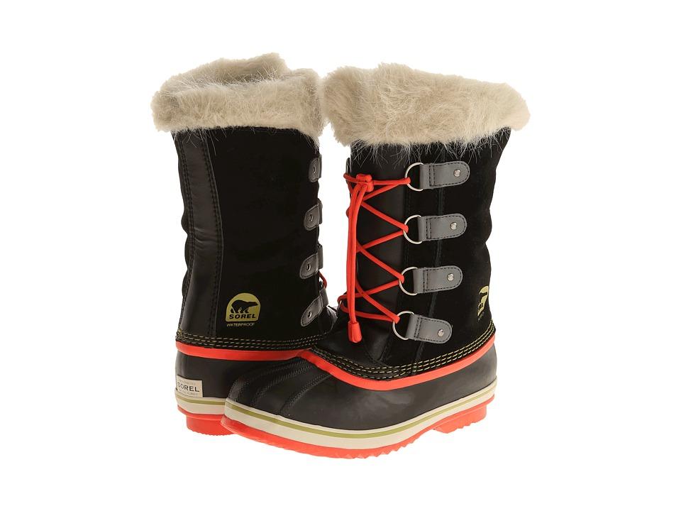 SOREL Kids - Joan of Arctic (Little Kid/Big Kid) (Black FA14 2) Girls Shoes