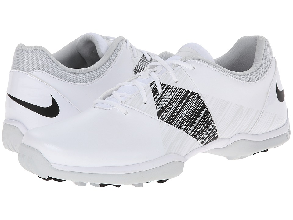 Nike Golf - Nike Delight V (White/Black/Pure Platinum) Women's Golf Shoes