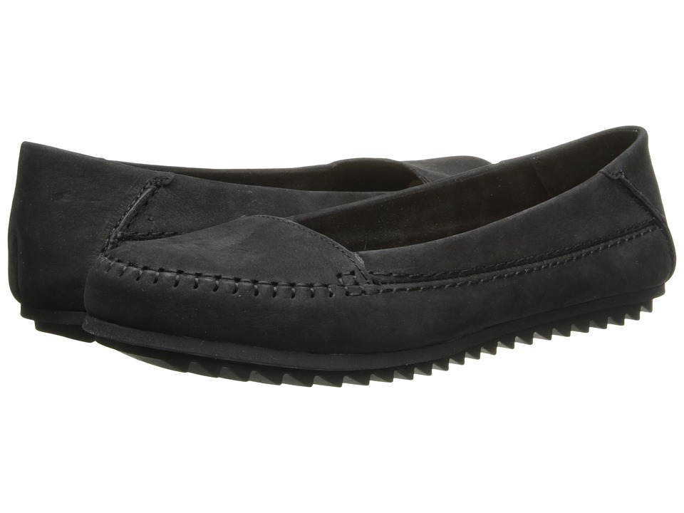 Hush Puppies - Thora Create (Black Nubuck) Women