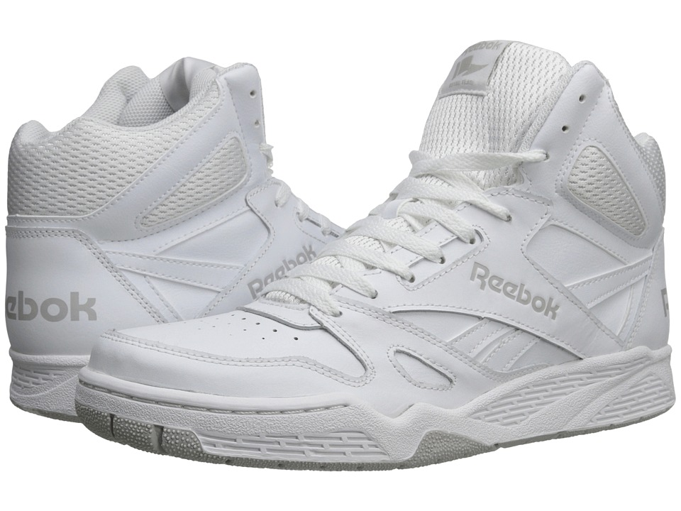 Reebok - Royal BB4500 Hi (White/Steel) Men's Basketball Shoes