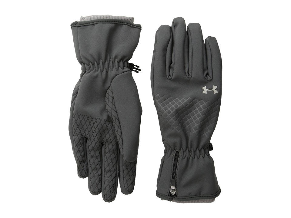 Under Armour - UA Coldgear(r) Infrared Storm Stealth Glove (Phantom Gray/Phantom Gray/Steeple Gray) Extreme Cold Weather Gloves