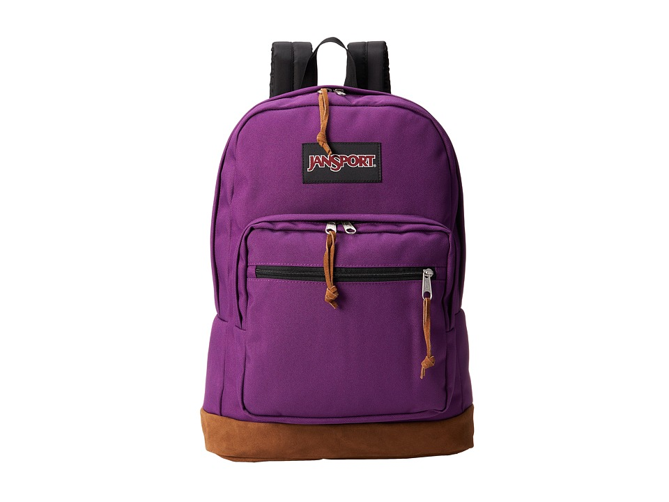 JanSport - Right Pack (Vivid Purple) Backpack Bags