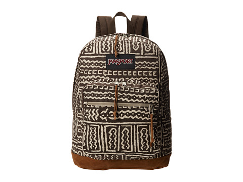 JanSport - Right Pack World (Downtown Brown Muddy Mali) Backpack Bags