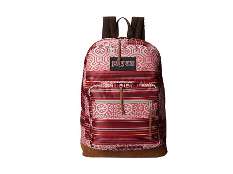 JanSport - Right Pack World (Red Tape Shanghai Sunset) Backpack Bags
