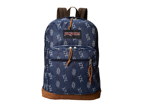 JanSport - Right Pack World (Navy Tokya Nights) Backpack Bags