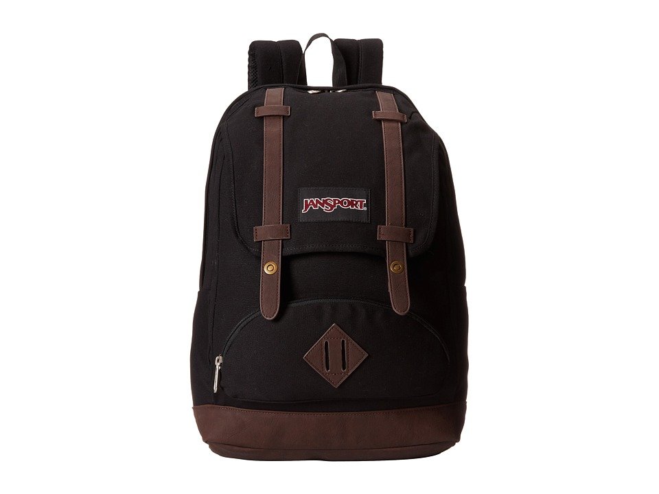 JanSport - Baughman (Black) Backpack Bags
