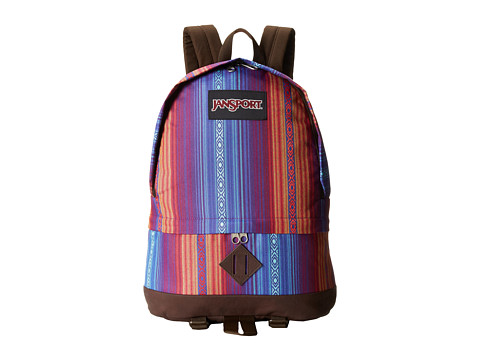 JanSport - Beatnik (Vivid Purple Acapulco Ombre Stripe) Backpack Bags