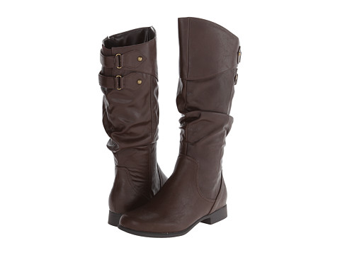 Hush Puppies - Gianna Motive (Dark Brown PU) Women