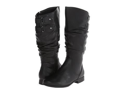 Hush Puppies - Gianna Motive (Black PU) Women's Shoes