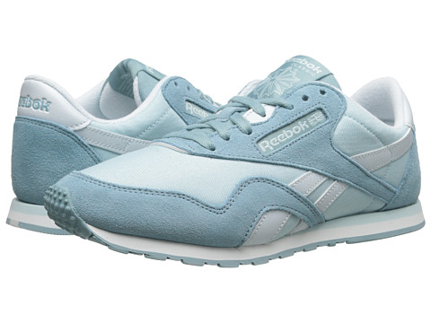 Reebok Lifestyle - Classic Nylon Slim Colors (Whisper Blue/Lunar Blue/Reflection Blue/White) Women's Classic Shoes