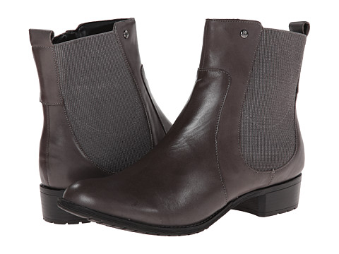 Hush Puppies - Lana Chamber (Smoke Leather) Women's Zip Boots