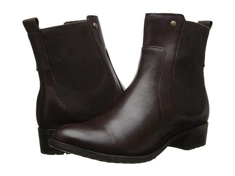 Hush Puppies - Lana Chamber (Dark Brown Leather) Women's Zip Boots