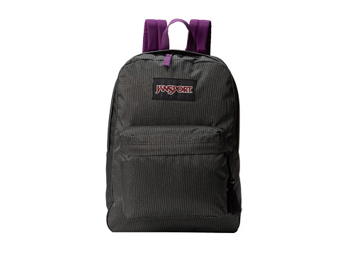 JanSport - Super FX (Vivid Purple Sparkle Dot) Backpack Bags