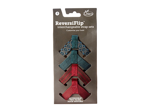Chaco - Reversiflip Webbing Set (Row & Flower Set) Women's Shoes