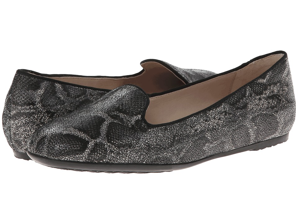 Hush Puppies - Queenie Hailey (Black Snake Leather) Women's Shoes