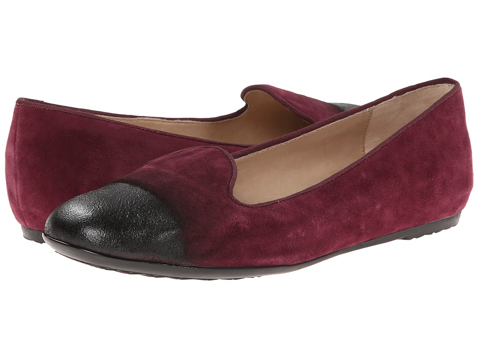 Hush Puppies - Queenie Hailey (Wine Suede) Women