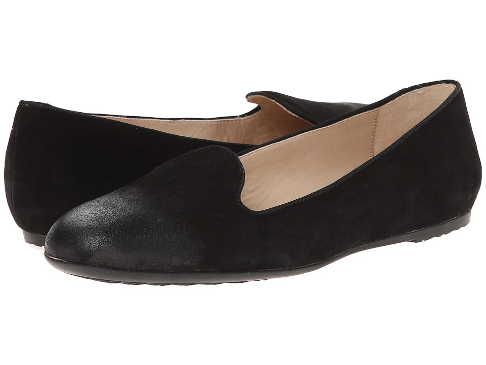 Hush Puppies - Queenie Hailey (Black Suede) Women