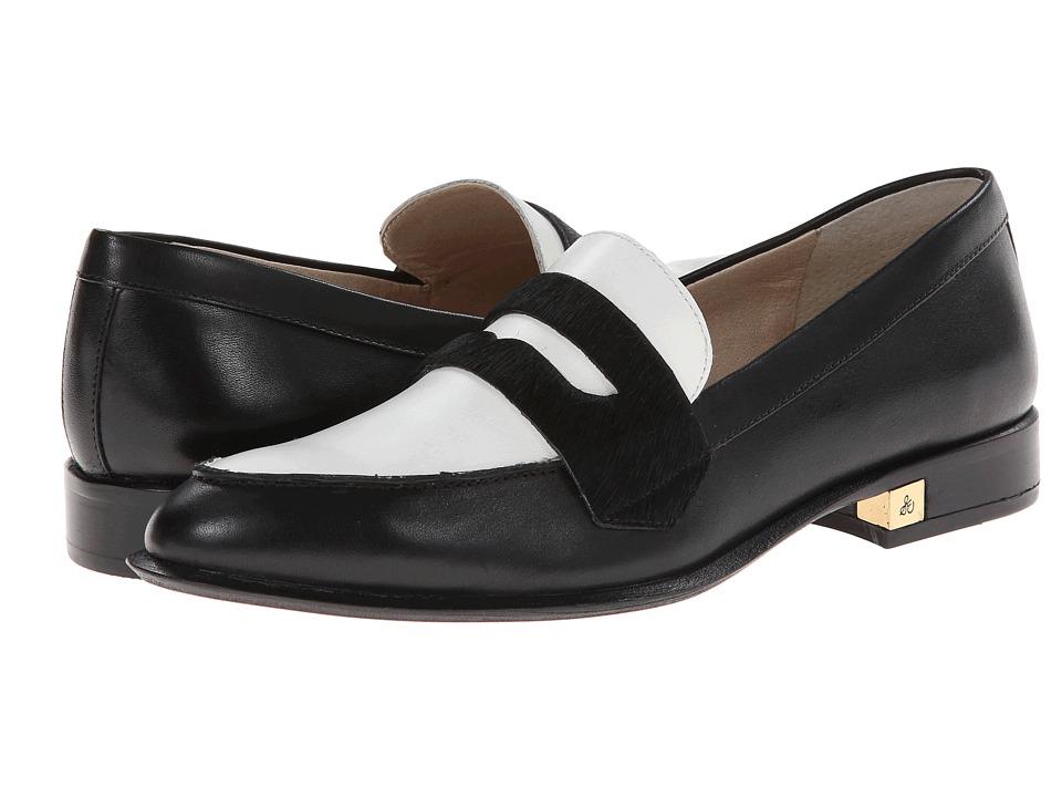 Sam Edelman - Bethanie (Black/Snow White) Women's Shoes
