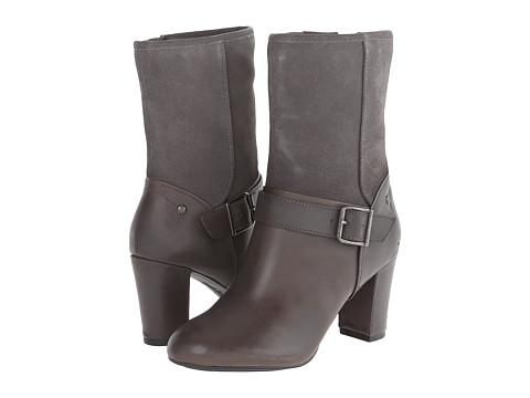 Hush Puppies - Dakota Sisany (Smoke WP Leather/Suede) Women's Shoes