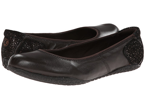 Hush Puppies - Zion Toli (Dark Brown Leather) Women
