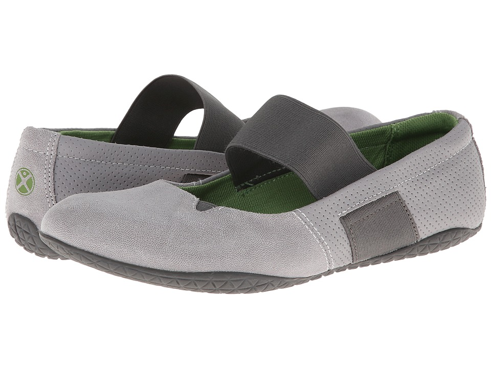 Hush Puppies - Zoe Toli (Cool Grey Leather) Women
