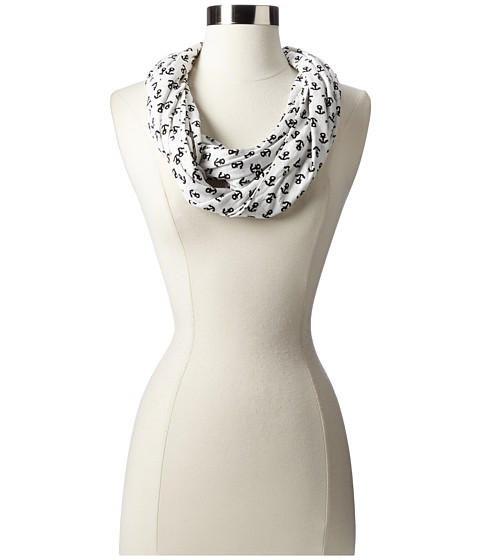 Sperry Top-Sider - Anchor Infinity (White) Scarves