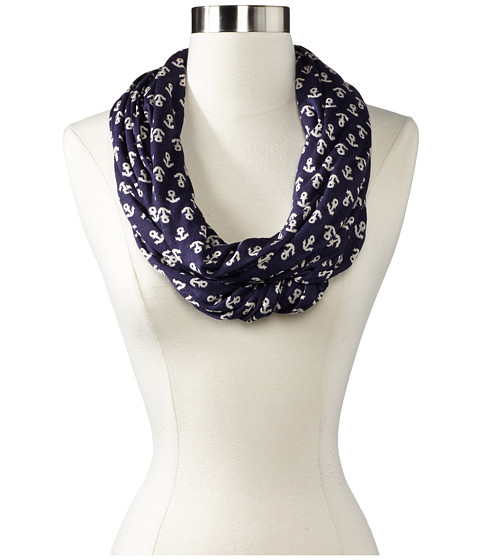 Sperry Top-Sider - Anchor Infinity (Navy) Scarves