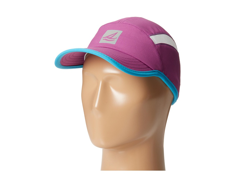 Sperry Top-Sider - Pop Stitch Mesh Cap w/ Reflective Logo (Festival Fuchsia) Caps
