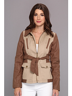 SALE! $32.99 - Save $47 on dollhouse Zip Front Jacket w Cotton Twill (Sand) Apparel - 58.76% OFF $80.00