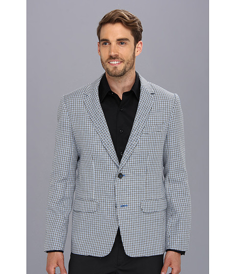 Mr.Turk - Abner Blazer (Mini Houndstooth Check) Men's Jacket